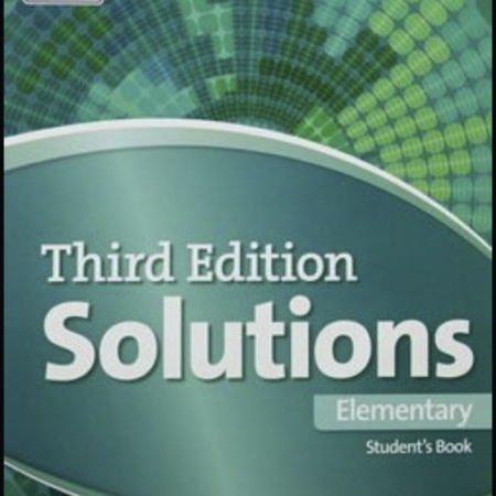 General English Oxford solutions Elementary, Available as an online course  and an classroom course
