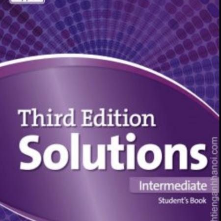 Solutions Intermediate general English. Oxford  English