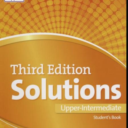Solutions Upper Intermediate, Oxford  General English