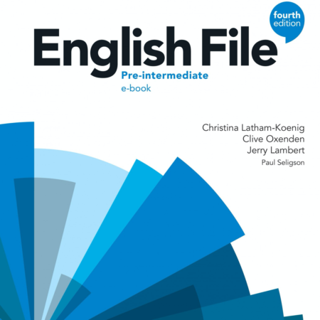 New English File 4th Edition Pre-intermediate. Available as an online course or a classroom course.