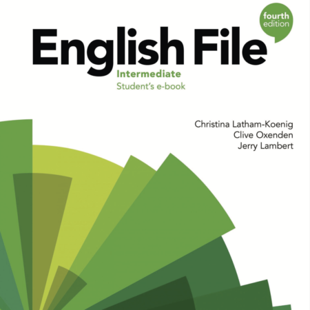 New English file 4th Edition Intermediate. Available as an online course or a classroom course.