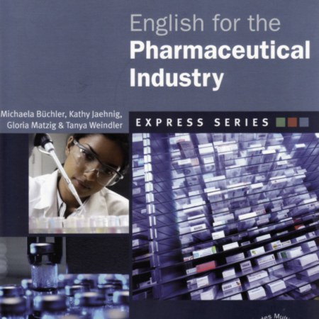 English for the pharmaceutical industry. Available as an online course or a classroom course