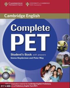 complete pet Cambridge preliminary course