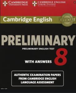 complete PET Cambridge preliminary 8